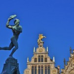 Marloes op stage in Antwerpen
