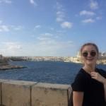 Maaike Zwijnepoel op Malta